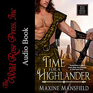 Time For A Highlander (Real Men Wear Kilts) audiobook cover art