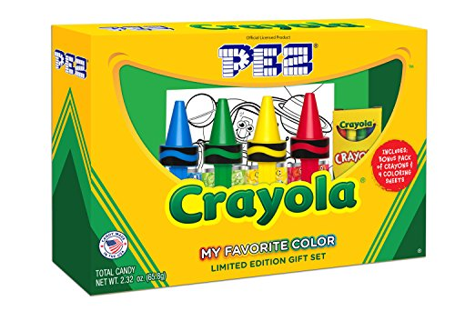 PEZ Candy Crayola Gift Set, 9.6 Ounce
