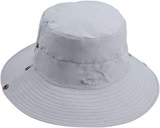 4416a2718d6c4 Mens Sun Hat Summer Unisex Sun UV Protection Bucket Hat Outdoor Waterproof  Wide Brim Hat