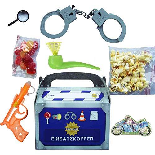 Firlefantastisch Wundertütenbox Polizei 8-TLG. // Mitgebsel Polizeiparty // Wundertüte Jungen