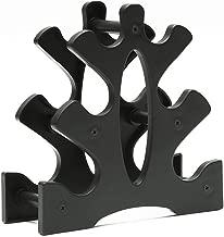 3Tier Dumbbell Storage Rack St/änder F/ür Multilevel Hand Weight Tower St/änder F/ür Die Organisation Von Turnhallen humflour Hantelablage