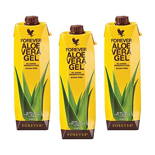 FLP Forever Living Aloe Vera Gel 1 litro 3 flaconi