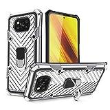 COOVY® Cover für Xiaomi PocoX3NFC Hülle Case PC +
