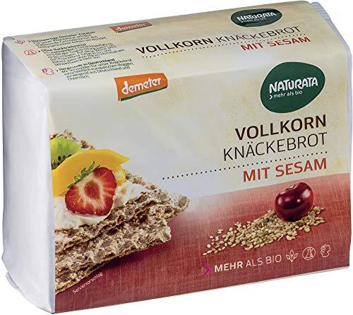 Naturata Bio Sesam Vollkorn-Knäckebrot (2 x 250 gr)