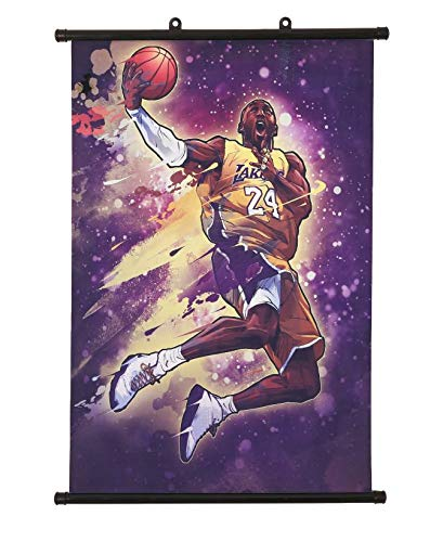 """MoMoAma Basketball Player Oil Painting/Wall poster 16"""" x 24"""" Inch"""