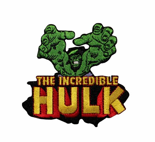 Marvel Comics The Incredible Hulk Embroidered Iron On Movie Patch p3352