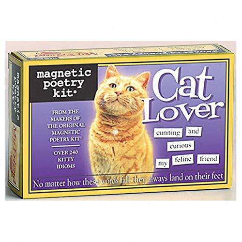 Poesía nevera conjunto - amantes de los gatos
