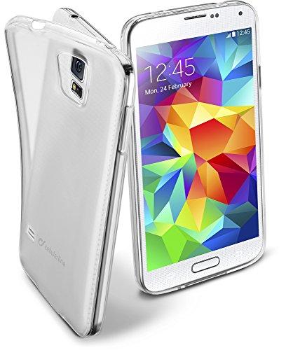 Cellular Line FINECGALS5T Schutzhülle für Samsung Galaxy S5 klar