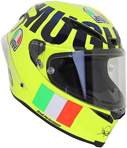 AGV Motorradhelm Corsa R E05 PLK, Rossi Mugello 2016, Größe XL