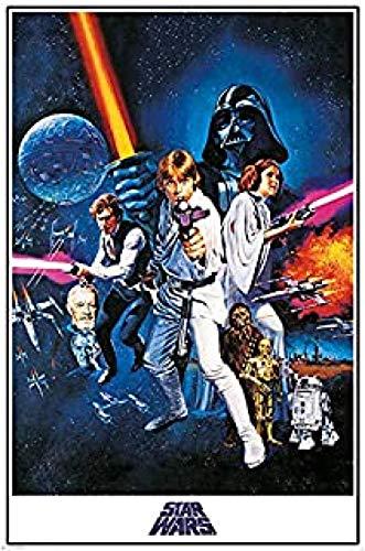 Yzqxiongtu Star Wars Movie Jigsaw Puzzle 1000 Piezas, Rompecabezas de Entretenimiento de Madera, Rompecabezas de Adultos en 2D para niños Adolescentes