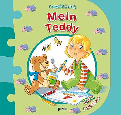 Puzzlebuch - Mein Teddy