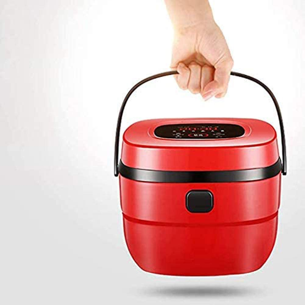 Keukenapparatuur rijstkoker huishoudelijke 1-2 personen mini slimme rijstkoker,Red Red