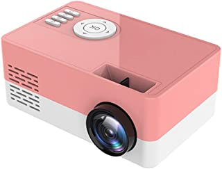 Video Projector Led Mini Projector Support 1080P Video Projector Screen Home Portable Media Player Pocket Pocket Projector...
