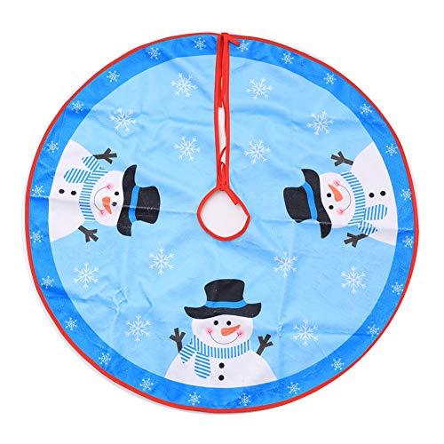 Da.Wa 1X Azul Árbol de Navidad Falda 80cm Manta Decorativa para Pie...