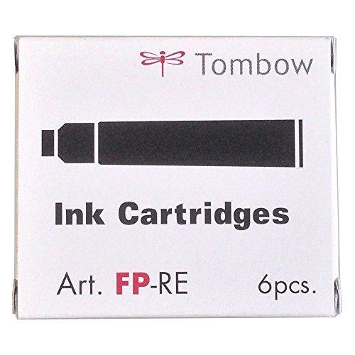 トンボ鉛筆 万年筆 カートリッジインク 青 6本 FP-RE15