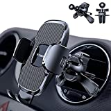 TORRAS Phone Holder for Car [Vertical & Circle Vent Friendly] Universal Stable Car Phone Mount Air Vent Holder Cradle Case Friendly Compatible with iPhone 12 11 Pro Max X 8 Plus Samsung Galaxy S20