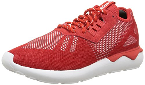 adidas Original Tubular Runner Weave Mens Sneakers/Shoes-Red-8.5