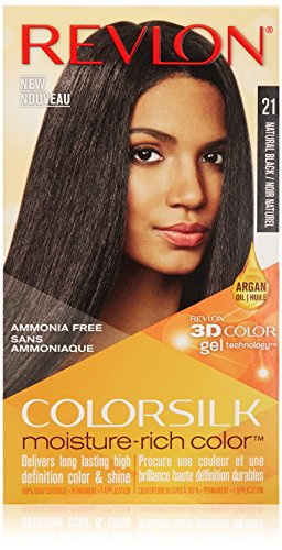 Revlon Colorsilk Moisture Rich Hair Color in Natural Black
