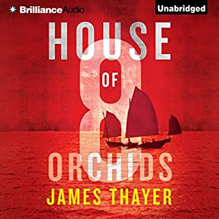 House of Eight Orchids audiobook cover art