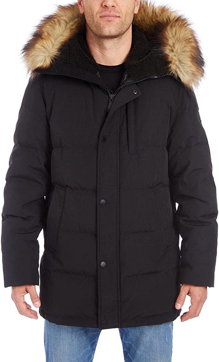 Vince Camuto Men's Down Warm Winter Coat Parka