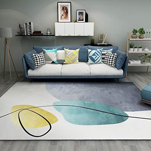 Modernes, Einfaches, Einfarbiges, Rutschfestes, Saugfähiges Sofa-Couchtischkissen Im Europäischen Stil, Rechteckiger Balkon, Arbeitsbodenkissen, Wohnzimmer, Schlafzimmer, Gastfamilie, Hotelteppich