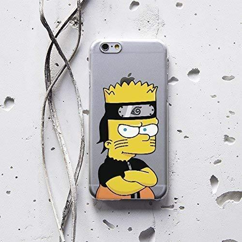 wholesale dealer 6f9b4 b5c48 Amazon.com: Naruto Shippuden Bart Simpson Case for Apple iPhone XR ...