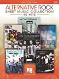 Alternative Rock Sheet Music Collection - 2nd Edition: 40 Hits Arranged for Piano/Vocal/Guitar: 40 Hits