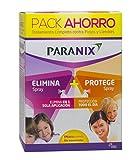 Paranix Paquete Spray de Tratamiento y Spray Preventivo Tratamiento para Piojos y Liendres, Incluye Lendrera - Sin insecticidas