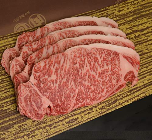 【松阪まるよし】 松阪牛 サーロイン ステーキ 200g×4枚 お中元 お取り寄せ 牛肉 人気
