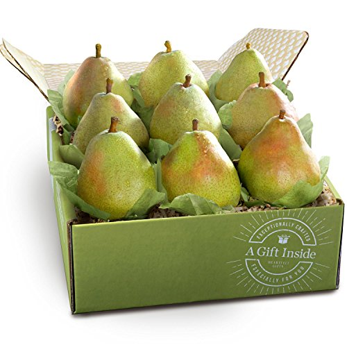 Imperial Comice Pears Deluxe Holiday Fruit Gift