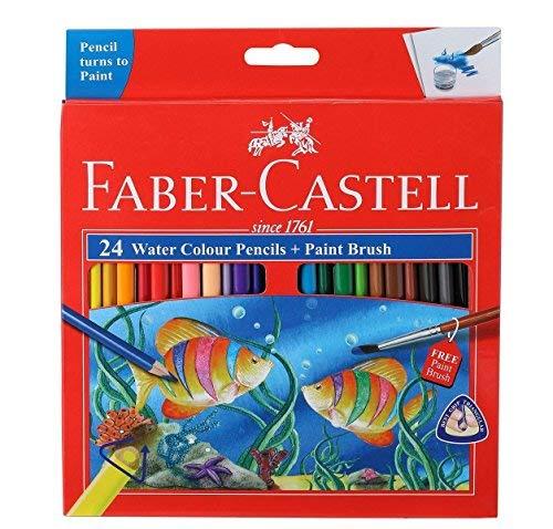 Faber-Castell Watercolor Pencils (24 color) Premium Quality Art Supplies Originals