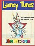 looney tunes Libro de colorear_para niños mayores de 3 años: Contiene 50 divertidos diseños