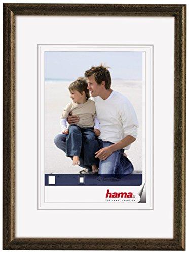 Hama 64625 - Marco de Fotos, Color marrón