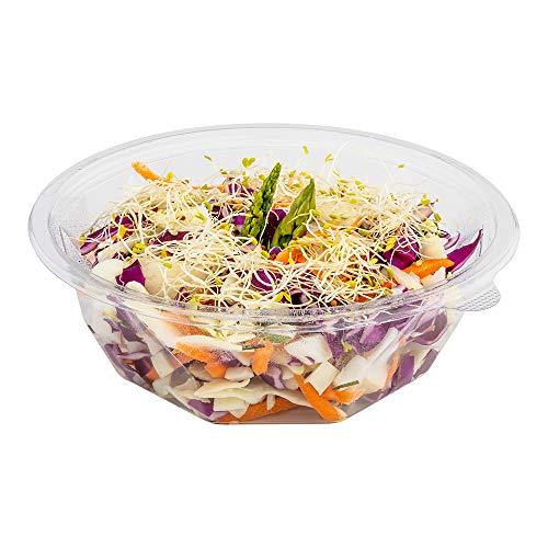 Clear plastic deksel voor 8 oz to go vaas PLA plastic deksel 500ct restaurantwaren Kom 16 oz 0