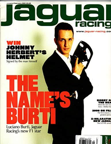 Jaguar Racing Magazine, January February 2001, Issue 6