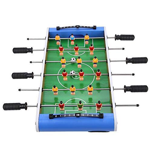Emoshayoga Ensamble fácilmente Mesa de Juego de fútbol de Madera Mesa de Pelota de fútbol Niños Juguetes para niños Regalo Interacción Entre Padres e Hijos