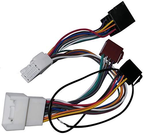 Aerzetix C4564 Câble Faisceau Autoradio PARROT KML Kit Mains Libres
