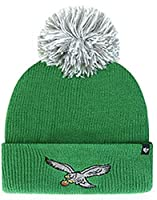 Philadelphia Eagles Green Retro Throwback Shiver Pom Knit Hat Cap Adult OSFA