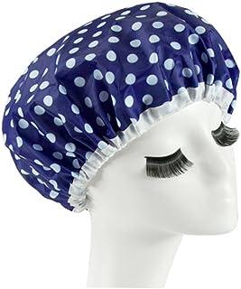 Reusable Waterproof Greaseproof Shower Cap Spa/Bathing Cap Cooking Hat #2