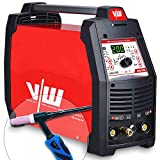 VECTOR T1050SIWM Dispositivo de soldadura profesional DC WIG, Rojo