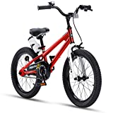 Royalbaby BMX Freestyle Kids' Bike for Boys and Girls, 18 inch with Kickstand, 95%