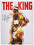 777 Tri-Seven Entertainment Lebron James The King 18x24 Cavaliers 23 Color Poster African American History, 18' x 24'