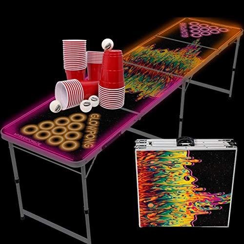 LED Bierpong Tisch