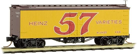 Micro-TRAIns MTL N-Scale Heinz Yellow Car #4 36ft Wood Reefer 57 Varieties #466