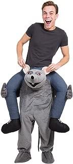 Bristol Novelty AF018 Rat Piggy Back Costume, One Size