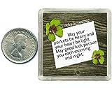 Oaktree Gifts - Portafortuna 6 pence in argento. Include scatola da regalo, perfetta idea regalo per compleanno, Natale, pensione, esami, matrimonio, anniversari, per mariti, mogli, amici o colleghi di lavoro