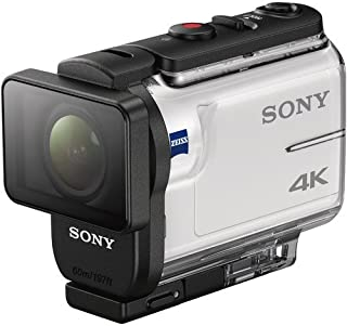 Sony 4K Action Cam with Wifi, 12 MP, Silver, FDR-X3000R