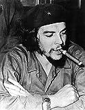 Che Guevara - Cigar - Poster schwarz-Weiss Foto Kuba