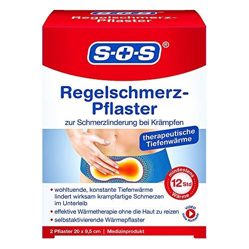 Sos Regelschmerz-pflaster 2 stk