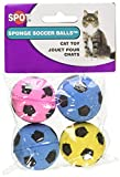 Sponge Soccer Balls 4 Pack Ethical Pet Schwamm-Fußballbälle (4 Stück)